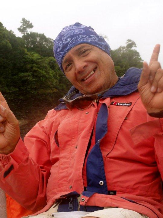 Para Falls Boat ride smiles.