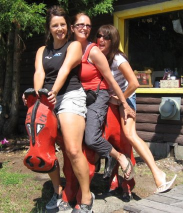 Memories from childhood, wish I could find this same foto when my sisters and i were kids in Hungry Horse Montana