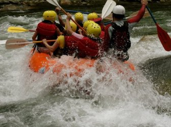 Rafting in Barinas Venezuela with Guamanchi tours.