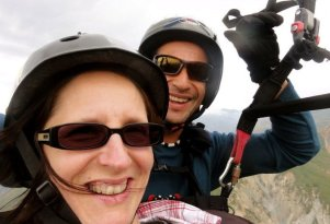 Guamanchi paragliding in merida.. a smile a mile high