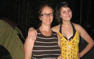 Camping in Montana.. with my daughter.