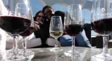 Doesn't get any better than this, I'm sure there's a Malbec in there somewhere. Wine tasting in Chile