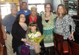 Mother's Day lunch with great friend and her family of over 15 years.