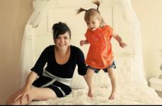 Spokane- Daughter and granddaughter - always makes me smile