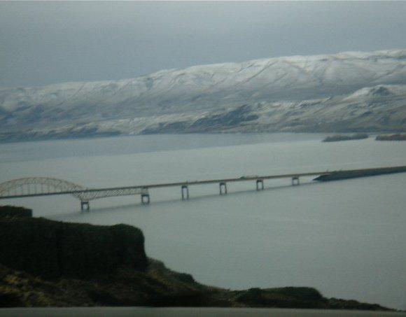 Bridge across the Gorge in Washington State