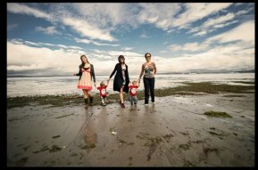 Haute Pink Photography - Alki Beach with Family