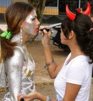 parade for carnival in Venezuela
