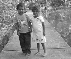 Foot Bridge in Delta Orinoco Venezuela