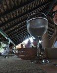 behind the glass lunch at santa teresa