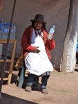 Random people only selling water or juice at random points on the tour.  Sitting there daily waiting for someone parched who then often tries to barter your water down to nearly nothing.