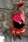 peru machu pichu girl for fotos