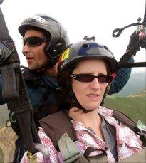 Paragliding in Merida, Venezuela with Guamanchi Tours