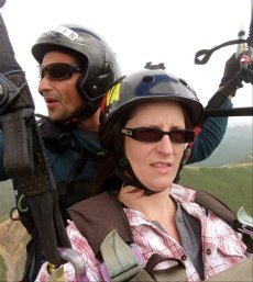 Paragliding in Merida, Venezuela with Guamanchi Tours