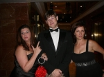 Venezuela, Marine Ball with son-in-law and friend
