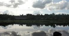Delta Orinoco cloud reflections