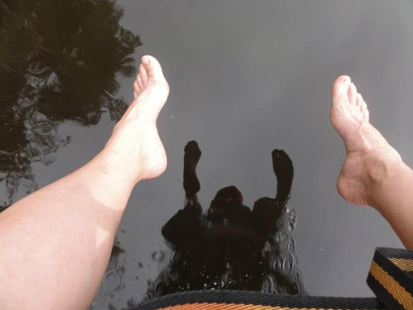 delta orinoco reflections of feet