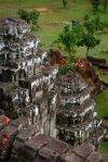 temples in fields
