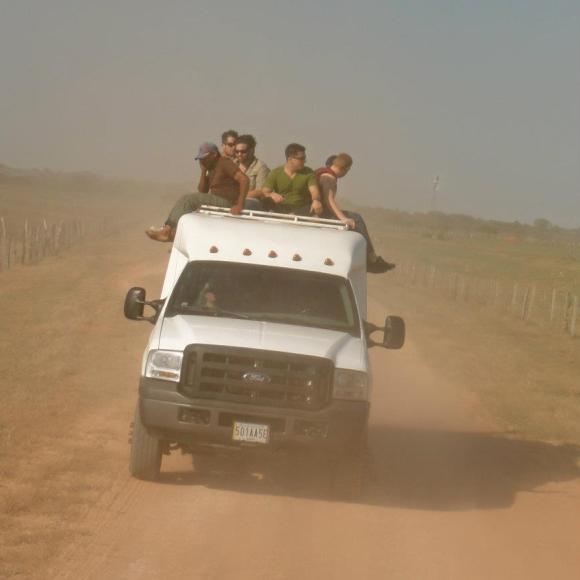 Los llanos mode of transport through the plains