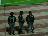 Soccer Game security in Quito