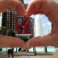 Hanging on to love in Philly