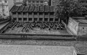Loved these imaged of the students in black and white