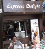 Brown cafe in Thamel