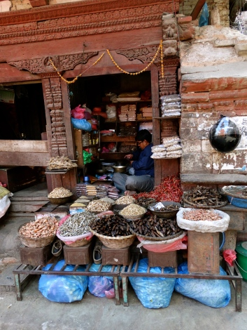 Spices and dirt