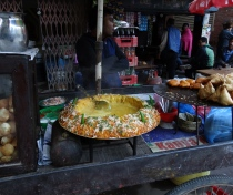 Street food - aromatic