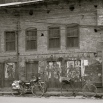 Loved this building in black and white..still very dusty
