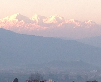 Ahh here's the real pay off. Setting sun on himalayans