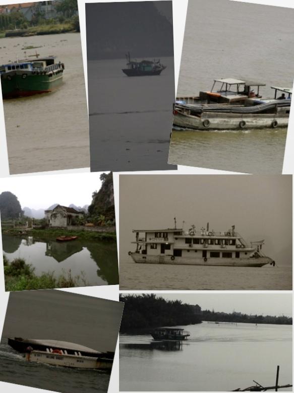 vietnam boats on water