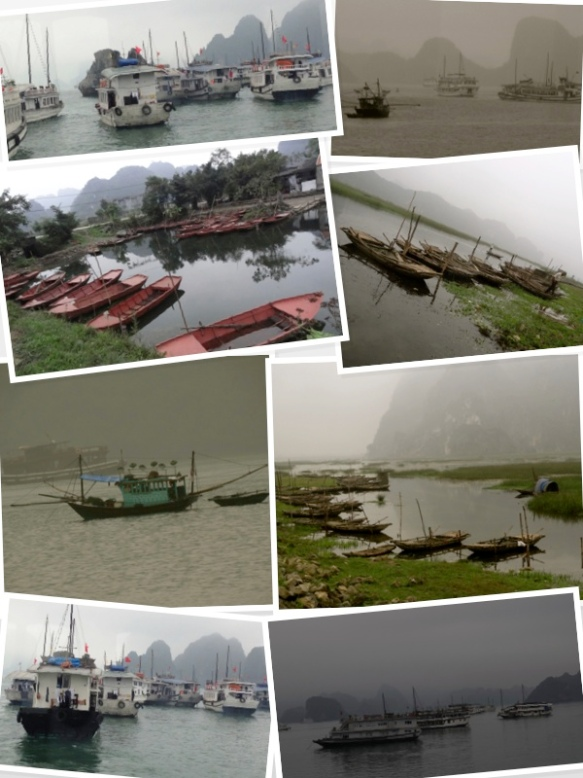 Vietnam crowded waters