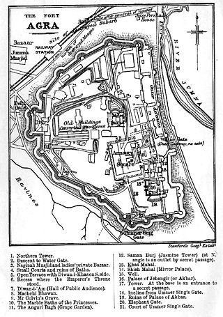 Agra-fort-plan-murray-1901