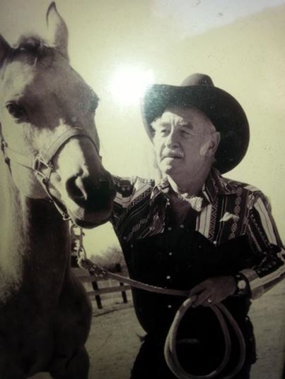 For flash back Thursday I'm reminded of a true cowboy my daddy. I laugh because turned the TV low and behold gunsmoke is the first thing I see is Matt Dillon riding a buckskin horse. See my daddy was like Matt Dillon kind loving and oh so handsome. Days may come and go but the love of my daddy will never fade. Just as the reruns of Gunsmoke.  So my message today is people my leave our lives but there memories will forever last in our hearts.