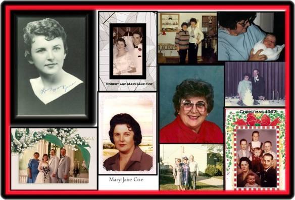 Memorial to Fran's mom
