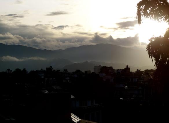 Morning on my balcony