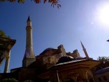 Blue Skies Istanbul Turkey