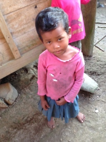 Child in Pink, Nepal