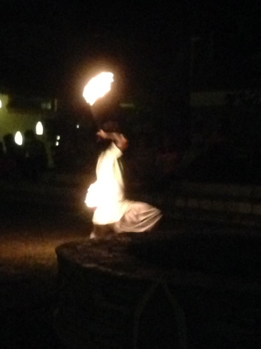 Fire Dancing in Chitwan, Nepal