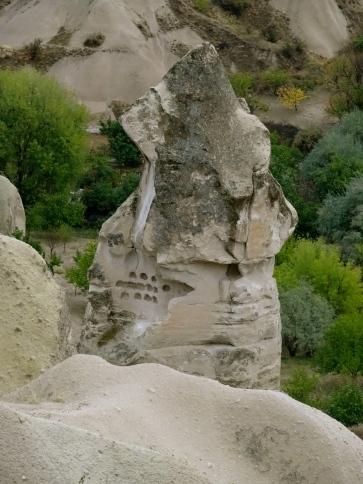 Edge of a cliff Ankara Turkey