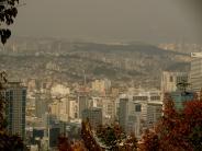 View of city - Seoul Korea