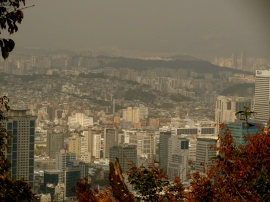 View of city - Seoul Korea