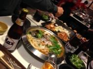 edge of my table Seoul Korea