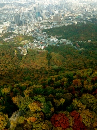 From Seoul Tower Korea