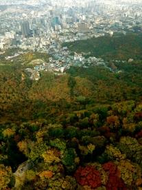 From Seoul Tower Korea