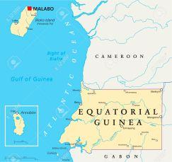 Equatorial Guinea Map